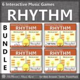 Spring Music Games: Interactive Rhythm Games Bundle {Dancing Chick}