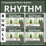 Christmas Music Games: Rhythm {Interactive Decorate the Tree Bundle}