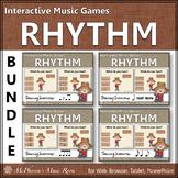 Rhythm Games Interactive Music Games Bundle {Dancing Scarecrow}