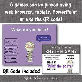 Rhythm Games Interactive Music Games {Dancing Mummy} Bundle