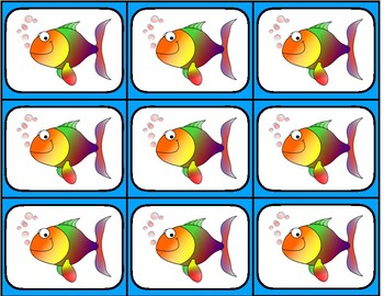 Rhythm Go Fish 4 beat patterns - 5 rhythm sets - Lower Grades ta titi & more