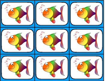Rhythm Go Fish - 4 beat patterns - 5 different rhythm sets - Upper Grades tika