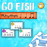 Rhythm Go Fish! Game - Centers and Sub Activity