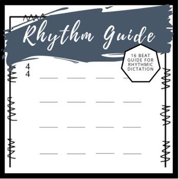 Rhythm Guide | 16 Beat Rhythmic Notation Guide