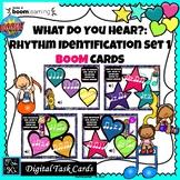 Rhythm Identification #1: BOOM CARDS-Digital Task Cards DI