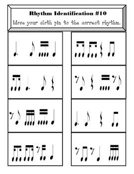 Rhythm Identification 10