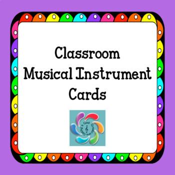 Rhythm Instrument Cards