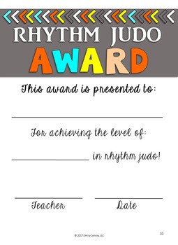 Rhythm Judo™ (Rhythm Activities And Review Using Bucket Drumming Songs )