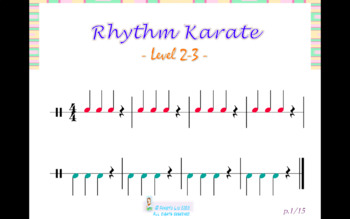 Rhythm Karate-Level 2-3
