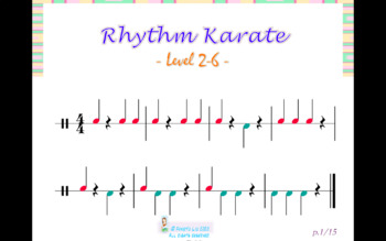 Rhythm Karate-Level 2-6