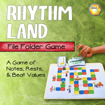 Rhythm Land - File Folder Game