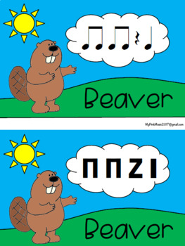 Rhythm Lesson 4 an Elementary MUSIC class: It's Not Easy being a Bunny -low prep