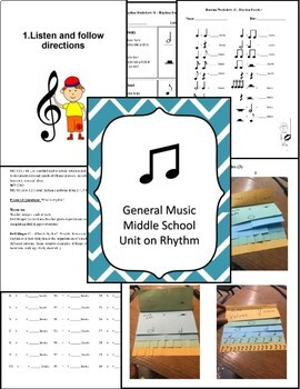 Rhythm Lesson Plans for the Middle School Music Class