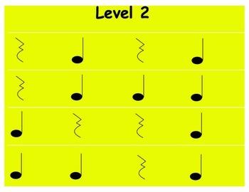 Rhythm Levels: 1st Grade