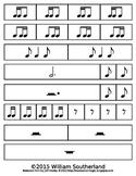Rhythm Manipulative Cut Outs LEVEL 2
