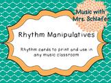 Rhythm Manipulatives