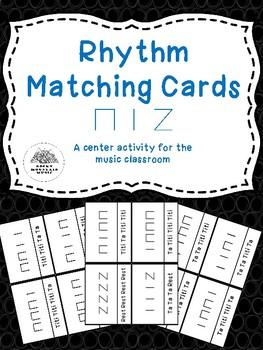 Rhythm Matching Cards