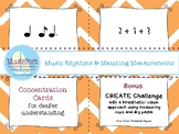 Rhythm & Math Equivalents in 6/8:  with CREATE Challenge