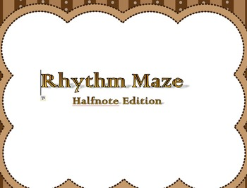 Rhythm Maze Halfnote Edition