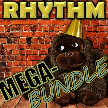Rhythm Mega-Bundle - Elementary Music - 8 rhythm resources - Elementary Music