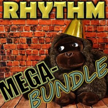 Rhythm Mega-Bundle - Elementary Music - 8 rhythm resources - Elementary Music