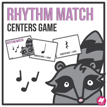 Rhythm Memory Match Game for Music Centers