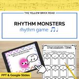 Rhythm Monsters: barred eighths