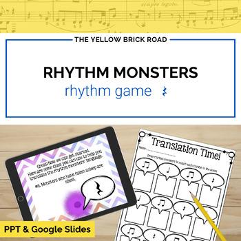Rhythm Monsters: quarter rest