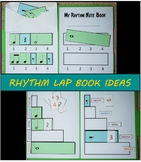Rhythm Note Values: Lap Book