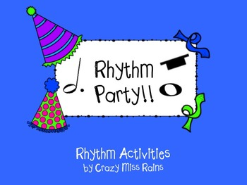Rhythm Party: Activities with Dotted Half Notes and Whole Notes and Rests