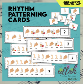 Rhythm Patterning Cards