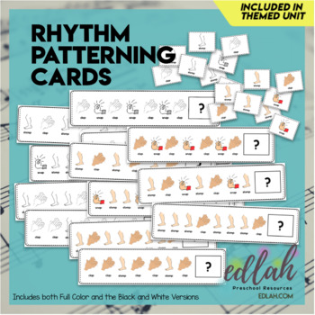 Rhythm Patterning Cards - BUNDLE