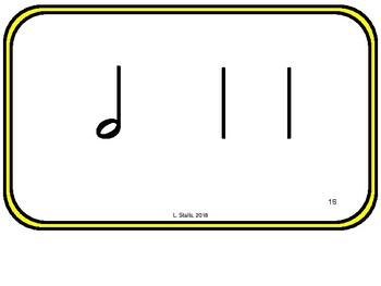 Rhythm Patterns for Elementary Music for the Kodaly Classroom