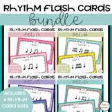 Music Rhythm Flash Cards Bundle