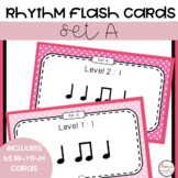 75 Printable Rhythm Cards - Set A