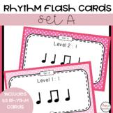 Music Rhythm Flash Cards 1