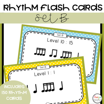 Rhythm Patterns for Musicians - Set B