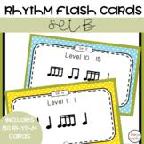 Printable Rhythm Cards - Set B
