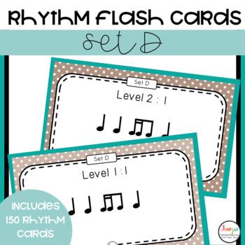 Rhythm Patterns for Musicians - Set D
