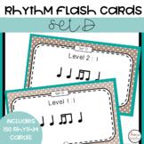Printable Rhythm Cards - Set D