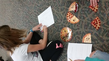 Rhythm Pizzas {quarter, half and eighth notes/rests}