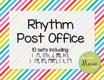 Rhythm Post Office Bundle