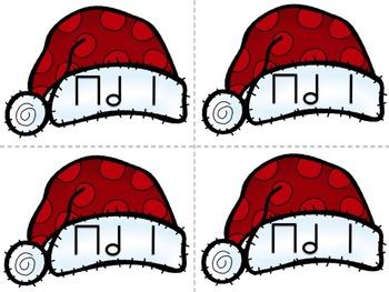 Rhythm Post Office Santa Hats Half Note