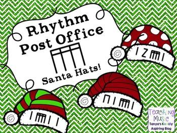 Rhythm Post Office Santa Hats Tika Tika