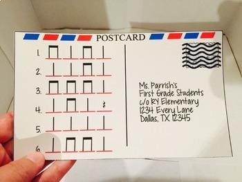 Rhythm Postcards - Quarter/Eighth/Rest