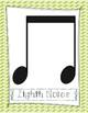 Rhythm Poster Set- Chevron Design