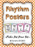 Rhythm Posters - Polka Dot Themed