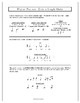 Rhythm Practice Worksheets - Ties, Dotted Notes and Rests in Simple Meter