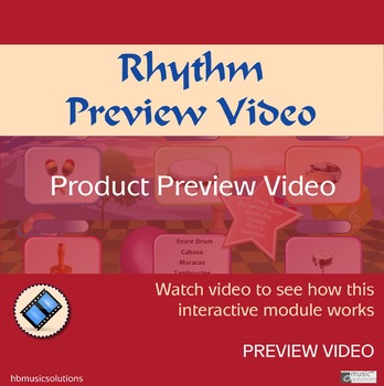 Rhythm Product Preview Video