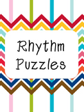 Rhythm Puzzles Rests - Easy